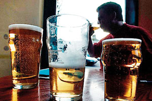 Lack of attention: The study's authors warned that risks attached to alcohol are under-emphasised by doctors