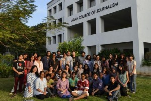 The Asian College of Journalism (ACJ) live-blogging team