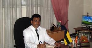Mr.D.M.D. Dissanayake Principal of D.S. Senanayake College Colombo- 07