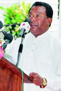 Minister of Higher Education, Mr.S.B.Dissanayake