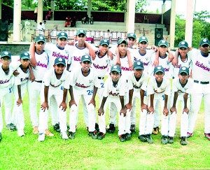 Richmond Galle Baseball team (Galle Corr)