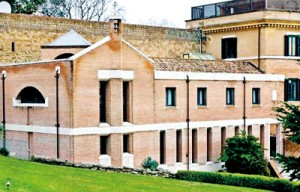 The monastery from where Pope Benedict XVI will retire from March 2013 is seen at the Vatican (REUTERS)