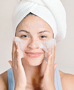 Keep your skin clean but take care not to over-wash