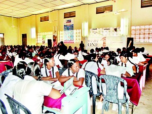 During the Quiz Competition