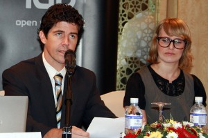 Mr. David Stead – Second Secretary Immigration Australian High Commission and Ms. Olivia Berrance – Australian High Commission