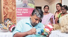 Investing in a heritage of craftsmanship: NDB conducts workshop for Mask makers in Ambalangoda