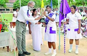 Natasha sets Chundikuli Girls' College putt shot record