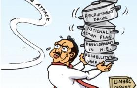 Govt. faces heavy fire from Geneva