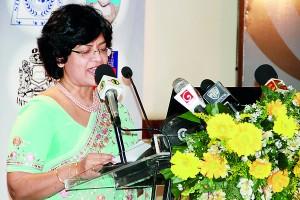 Welcome speech by Mrs. Priyanthi Seneviratne, Secretary G�� Public Relations and Communications of TISSL