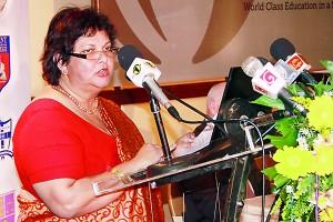 Vote of Thanks by Mrs. Kumari Hapugalle Perera, General Secretary TISSL