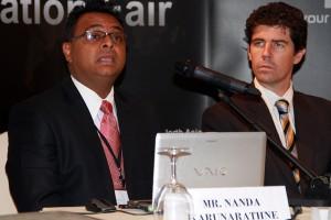 Mr. Nanda Karunaratne – Snr. Manager IDP Education Australia and Mr. David Stead – Second Secretary Immigration Australian High Commission