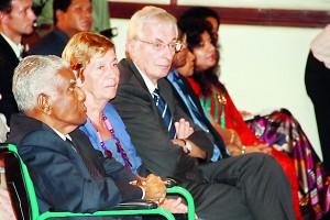 Mr R I T Alles, Mrs Elizabeth Moir and Mr David David Saunders