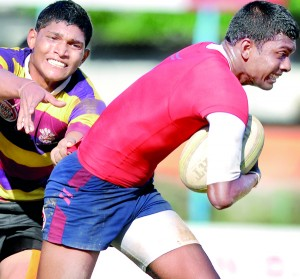 The Schools All-Island U-20 Division I Sevens tournament which was held last weekend produced a few upset wins but hardly saw the emergence of potential Sevens players. - Pic by Amila Gamage