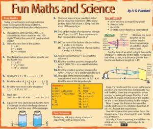 Fun-maths-science