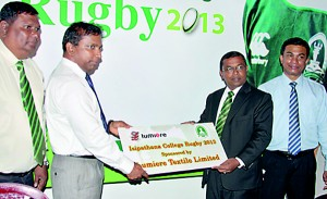 Lumiere will partner to sponsor Isipathana rugby this season.