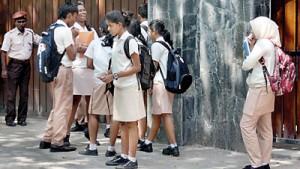 Students at an international school in Colombo. Pic by Indika Handuwala