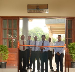 Seen here is Prof. Uditha Liyanage, Director, PIM opening the PIM Research Centre