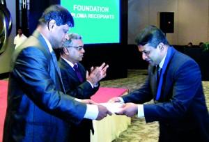 Pic at the awards ceremony by Athula Devapriya
