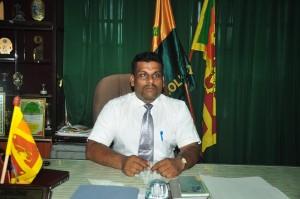 The Principal Mr.K.K.P. Ariyasinghe
