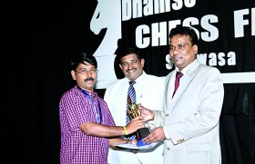 Indian Gopal wins 3rd Dhamso Chess Festival