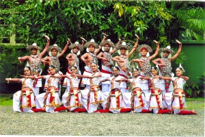 The College Dancing Group which emerged first in the island at the All Dancing Competition, 2012