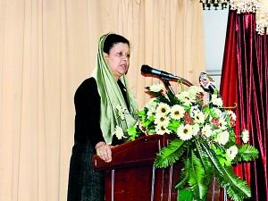 Address by Principal Dr. Hajarjahan Munsoor