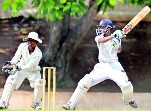 School cricket is in full swing right now.