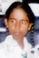 Victim: Hashini Anusha  Kumari. Pic by E. Susantha