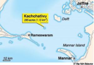 Kachchatheevu-map