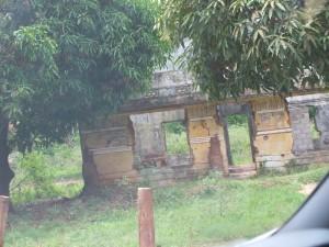 War ravaged house in the Kilinochchi area