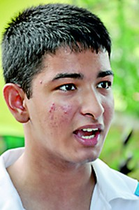 You can't really stop the chaos before and during a Big Match. People just have to tell their friends to control themselves. Most people are drunk and they don't intend to make a mistake but in that state they think people are insulting them and their school. - Anish Samidon (Student)