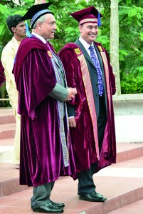 Chief Justice Hon. Mohan Peiris and Professor Lalith Gamage