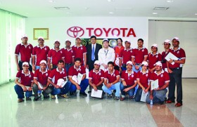 Manufacturing Management Students Visit Toyota and Nissan Factories in Thailand