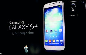 Samsung's Galaxy S4 emerges to do battle