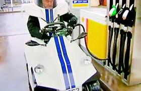 Japan unveils robot car