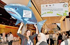 Lanka won't reveal shark secret