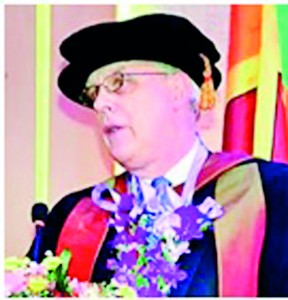 The Deputy Vice Chancellor of Buckinghamshire New University (BNU) - UK, Derek Godfrey,