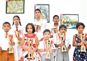 Dilshan Karunanayake, Kimuthu Kulathilaka, Ashvinda Jayathilake, Movindhu Ramanayake,  Methuki Sanaya,  Nethmi Silva,   Kavindu Mudalige and Chanuka Jayarathne.