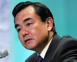 Wang Yi speaks at a symposium 'The Future of Asia' (Reuters)