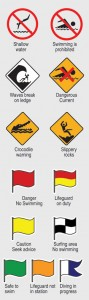 International warning  signs