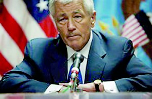 U.S. Defence Secretary Chuck Hagel (Reuters)