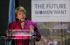 Chile's former President and UN Women Executive Director Michelle Bachelet  (REUTERS)