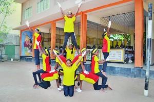 The Gymnastic Troop