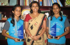 Twins from Lyceum International School achieve a new World Record at the OCPJP Examination