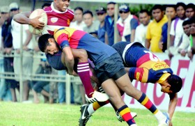 Trinity contain giant killers Science for  close win