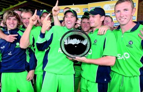 Ireland on the verge of qualifying for the ICC Cricket World Cup 2015