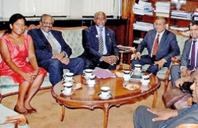 'Acting' President Priyankara on cloud nine