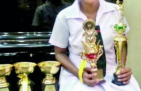Gaveshini named Methodist's Most Outstanding Sportsperson