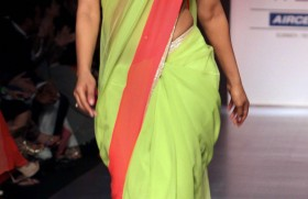 Priyanka Chopra during a fashion show