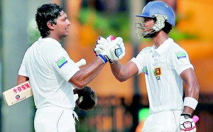 Dinesh Chandimal's second century against Bangladesh was largely fashioned by the man who stood at the other end – Kumar Sangakkara.